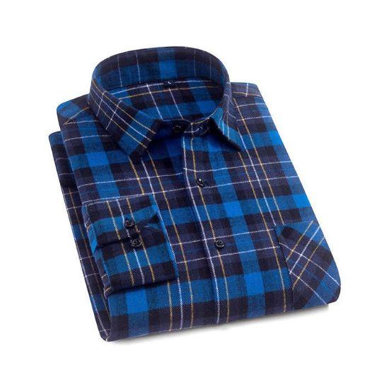 Picture of Men 100 Cotton Men Shirt Long Sleeve Shirts