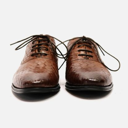 Picture of Genuine Leather Mens Formal Shoes