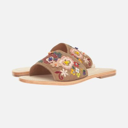 Picture of Womens Flat Sandals Seychelles Under Control Tan