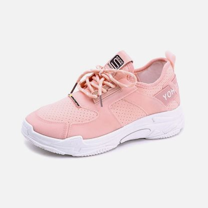 Picture of Running Shoes For Women Stylish Lace