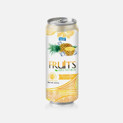 Picture of Pineaple Juice 320ml Sleek Can