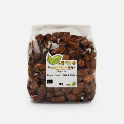 Picture of Organic Dates Pitted Deglet Noir 1kg