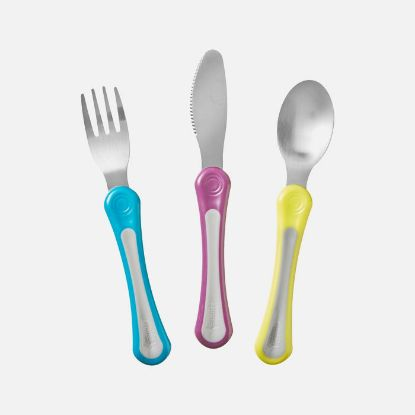 Picture of Tommee Tippee Explora First Grown Up Cutlery Set