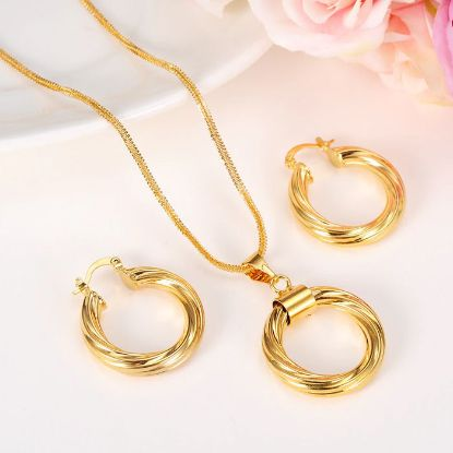 Picture of Jewelry Necklace Pendant Earring Set