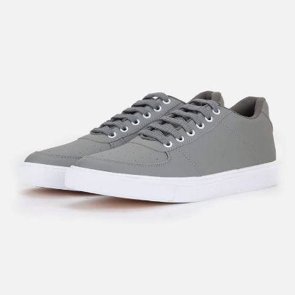 Picture of Mens Grey Casual Sneakers