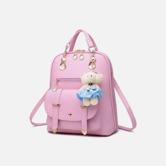 Picture of Women Ladies Backpack Shoulder Bag