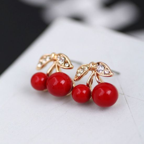 Picture of Alloy Cherry Earing For Women