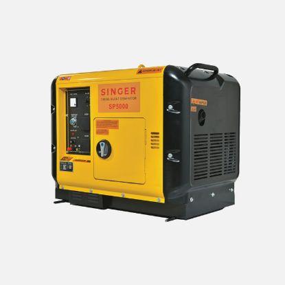 Picture of Singer Diesel Generator 5000VA