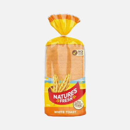 Picture of Natures Fresh Toast Bread white