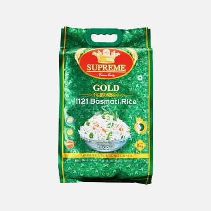 Picture of Supreme Gold 1121 Basmati Rice
