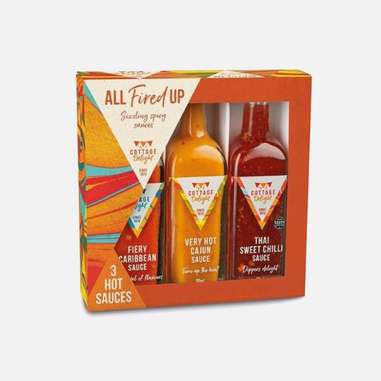 Picture of All Fried Up Hot Sauce Set
