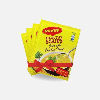 Picture of Nestle Maggi healthySoup corn With Chicken Flavor