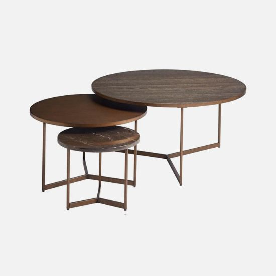 Picture of Modern Onyx Cagney Bunching Tables