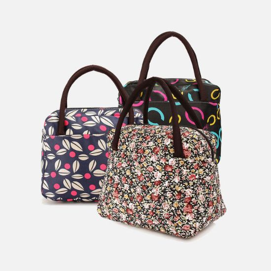 Picture of Summer Food Lunch Box Bag Carry Tote
