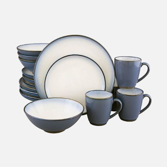 Picture of Dinnerware Set in Eggplant