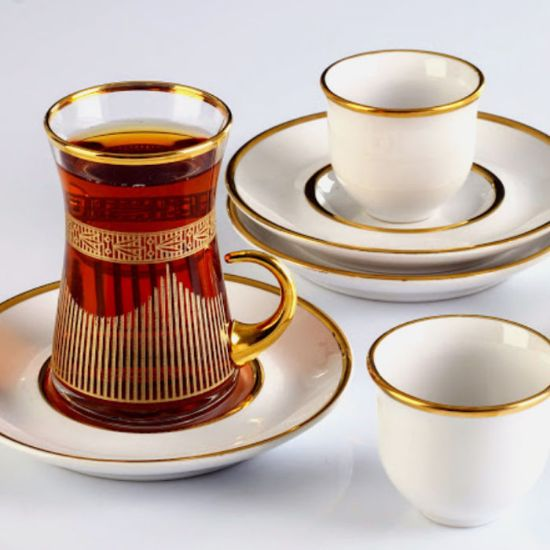 Picture of Wholesale Decorated Fine Glass Tableware