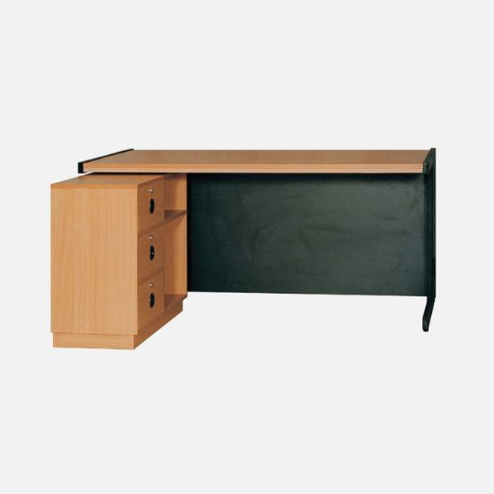 Picture of Executive Table with Side rack