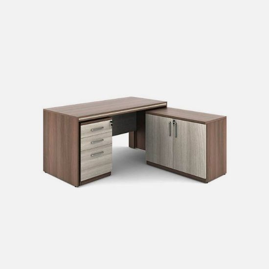 Picture of Executive Table with Side Storage
